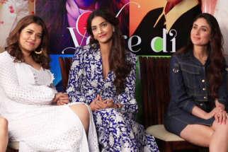 Veere Di Wedding stars are FABULOUS TEASER Kareena Sonam Swara Shikha