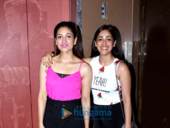 Yami Gautam with her sister spotted at PVR cinemas in Juhu