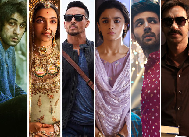 2018 First Half report card - Sanju expected to be grand finale after super success of Padmaavat, Baaghi 2, Raazi, SKTKS, Raid