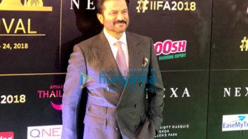 Kriti Sanon, Shraddha Kapoor, Anil Kapoor, Varun Dhawan and others snapped at the green carpet of IIFA Rocks 2018