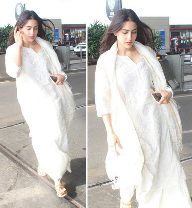 Celebrity Airport Style - Sara Ali Khan