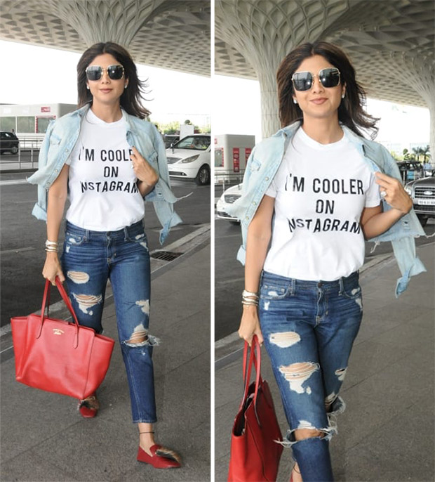 Celebrity Airport Style - Shilpa Shetty