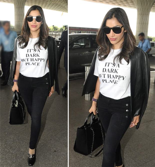 Celebrity Airport Style - Sophie Choudry