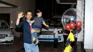 Celebs grace Tusshar Kapoor's son Laksshya's birthday party