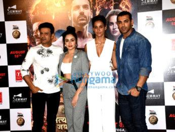 Celebs grace the trailer launch of 'Satyameva Jayate'