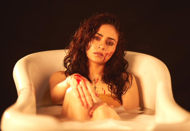 Check out: Amruta Khanvilkar and Amit Sial's look from the upcoming series Damaged