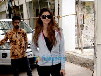 Daisy Shah and Nupur Sanon snapped in Mumbai