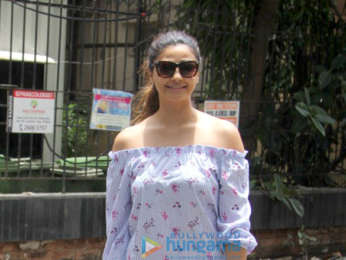 Daisy Shah snapped at Manish Malhotra's store