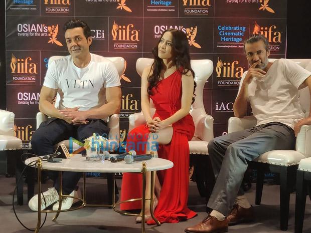 IIFA 2018 Bobby Deol and Urvashi Rautela celebrate Osian's new vision to preserve cinema heritage
