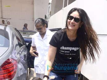 Kareena Kapoor Khan snapped with Taimur Ali Khan at Mehboob Studio