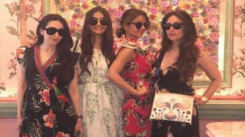 Karisma Kapoor celebrates her birthday with Kareena Kapoor, Sonam Kapoor and the gang in London