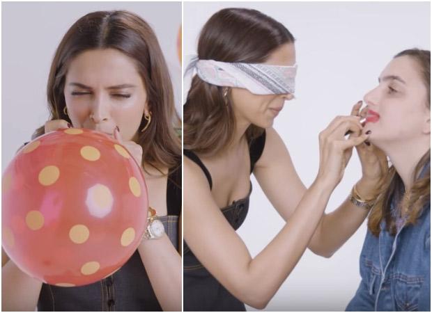 LOL Deepika Padukone tries 9 goofiest things she has never done before