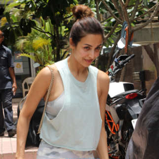 Malaika Arora snapped outside her gym