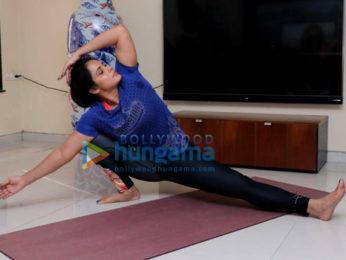 Neetu Chandra gears up for International Yoga Day