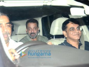 Ranbir Kapoor, Alia Bhatt, Sanjay Dutt, Aamir Khan and others snapped attending the the special screening of 'Sanju'
