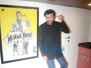Ranbir Kapoor snapped at Rajkumar Hirani's office in Andheri