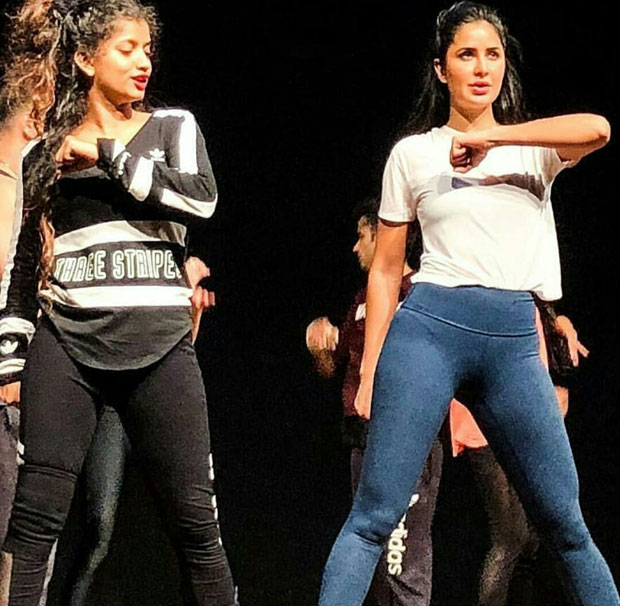 Salman Khan and Katrina Kaif begin rehearsals for the Dabangg Reloaded tour (see pictures)