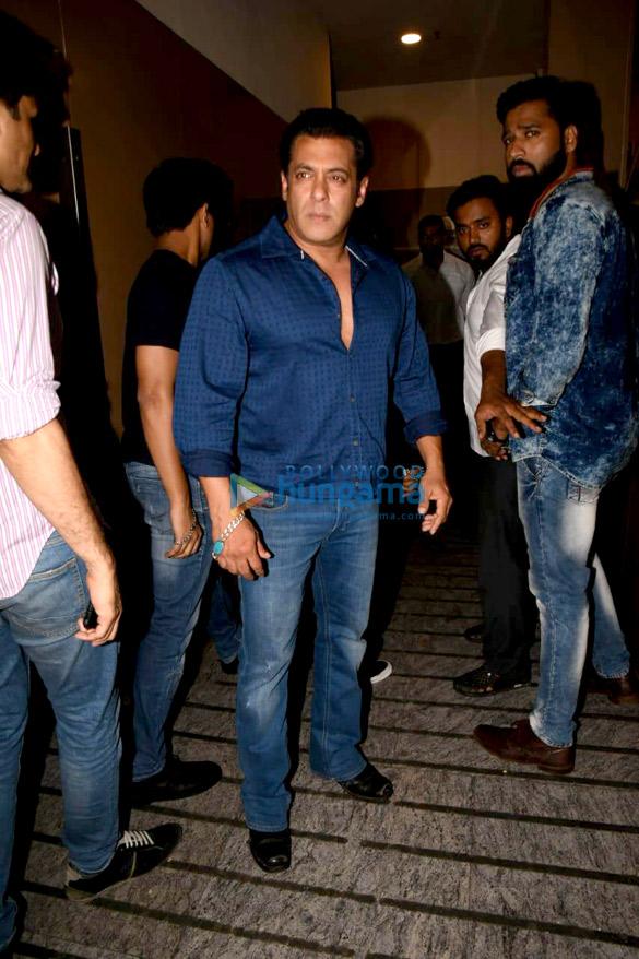 Salman Khan and Sohail Khan spotted at PVR Juhu