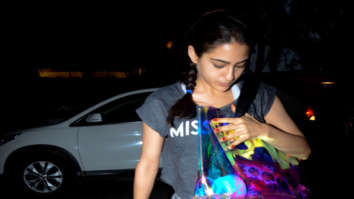 Sara Ali Khan snapped post gym session in Bandra
