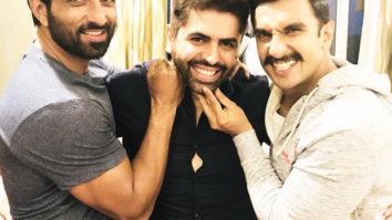 Simmba Ranveer Singh and his villain Sonu Sood are enjoying in Hyderabad