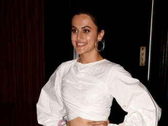 Taapsee Pannu snapped promoting her film Soorma