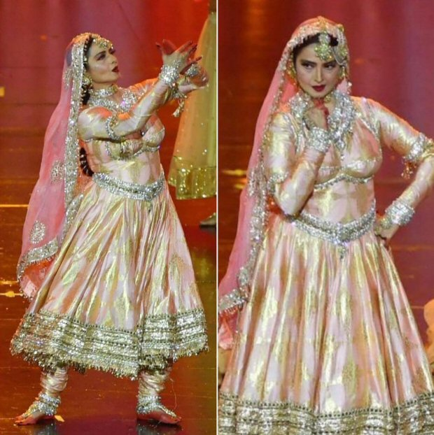 IIFA 2018: When Rekha took the centre stage with her captivating Salaam-E-Ishq performance & Ranbir Kapoor joined in (watch videos)