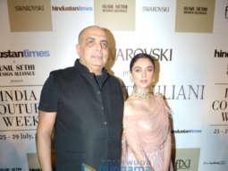 Aditi Rao Hydari walks the ramp for Tarun Tahiliani at India Couture Week 2018