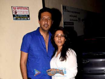 Akshay Kumar, Yami Gautam and Kartik Aaryan snapped at PVR, Juhu