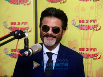 Anil Kapoor snapped promoting Fanney Khan at the Radio Mirchi office