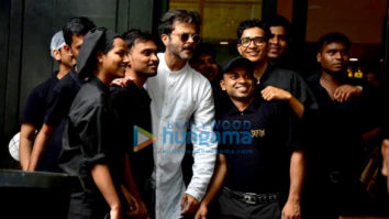 Anil Kapoor spotted at Suzette Creperie & Cafe in Bandra