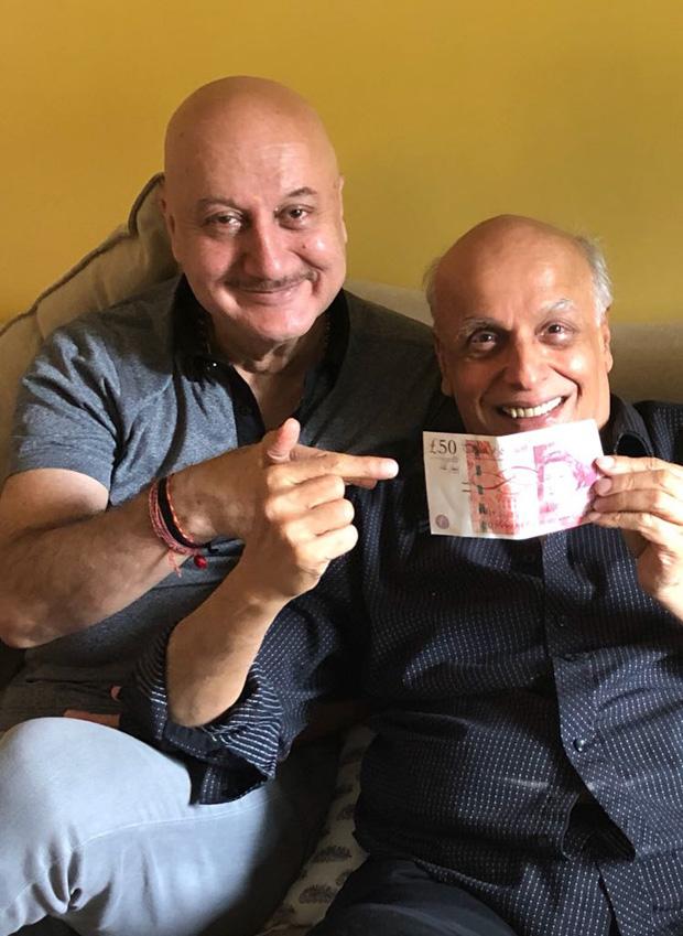 Anupam Kher's guru dakshina for Mahesh Bhatt