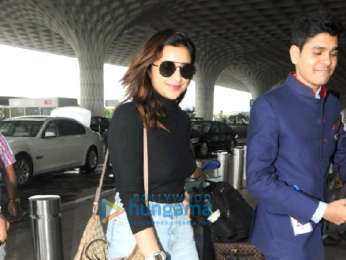 Arjun Kapoor, Parineeti Chopra, Sulaiman Merchant and others snapped at the airport