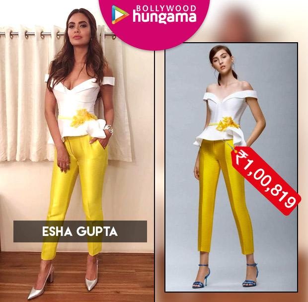 Celebrity Splurges - Esha Gupta