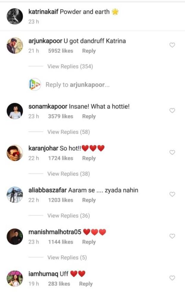 Arjun Kapoor trolls super hot video of Katrina Kaif; Sonam Kapoor, Karan Johar can't stop praising her