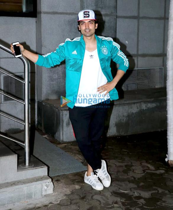 Gurmeet Choudhary spotted at Starbucks in Andheri