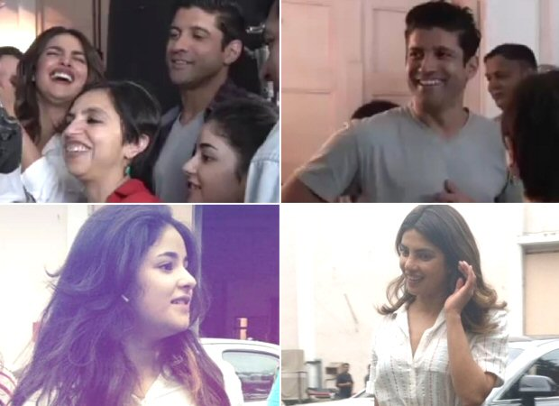 Here's a glimpse from prep session of Priyanka Chopra, Farhan Akhtar and Zaira Wasim starrer The Sky Is Pink