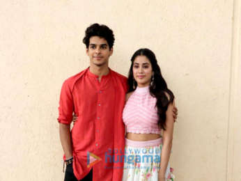 Ishaan Khatter and Janhvi Kapoor promote their film Dhadak on set of India's Best Dramebaaz