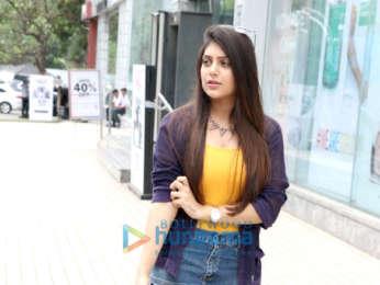 Ishita Chauhan snapped in Juhu