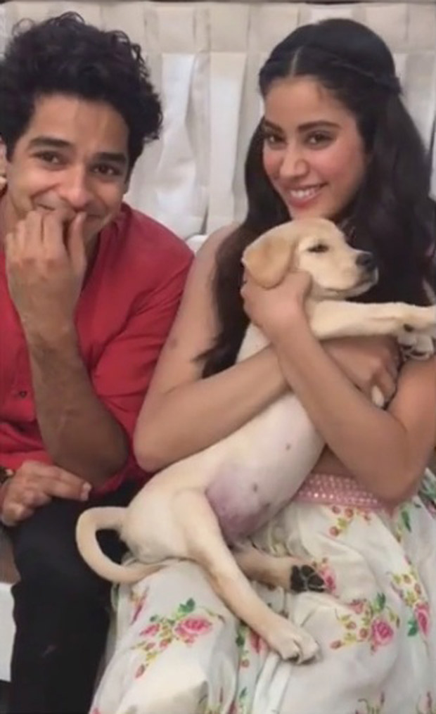 Janhvi Kapoor and Ishaan Khatter have a funny take on the 'Puppy' joke from Dhadak