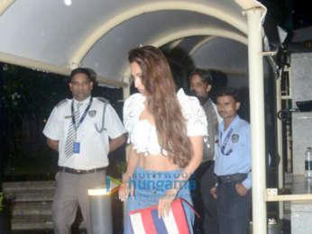 Malaika Arora snapped at BKC in Bandra