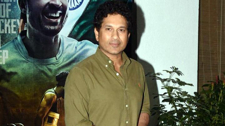 Master Blaster Sachin Tendulkar @Special Screening of 'Soorma'