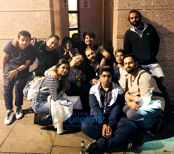 Kangana Ranaut and Rajkummar Rao wrap up London schedule of Mental Hai Kya in the most Bollywood way