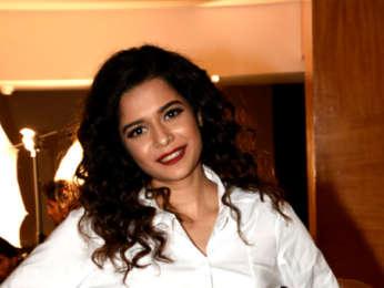Mithila Palkar and Akarsh Khurana promote their film 'Karwaan'