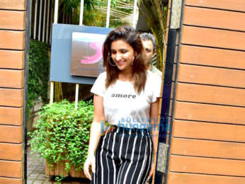 Parineeti Chopra spotted at the Sony Music office in Bandra