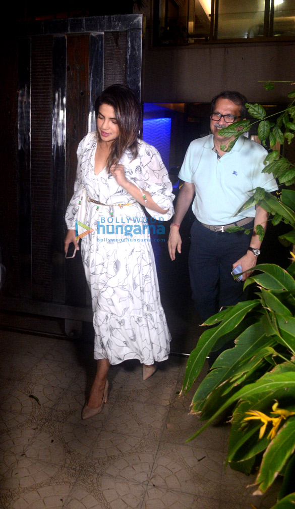 Priyanka Chopra and Elli Avram spotted at Dr. Sandesh Mayekar Dental Clinic