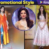 Janhvi Kapoor promotional style for Dhadak