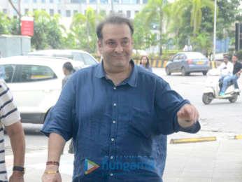 Rajiv Kapoor snapped at BKC