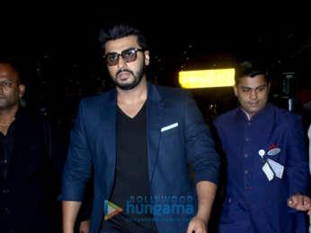 Ranveer Singh and Arjun Kapoor snapped at the airport