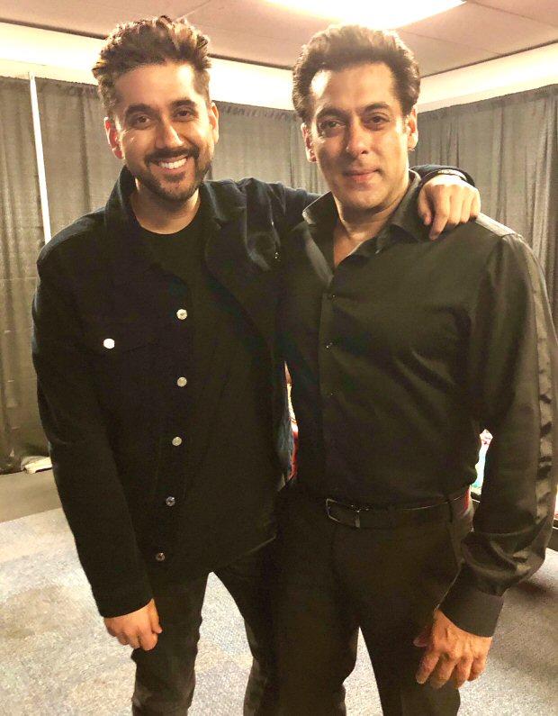 Salman Khan reunites with Dr Cabbie actor Vinay Virmani in Toronto
