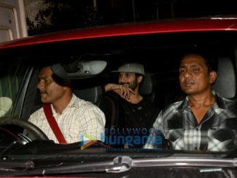 Shahid Kapoor and Utkarsh Sharma snapped in Juhu